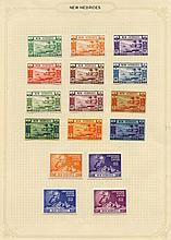 1938-67 fine M collection on leaves incl. 1938