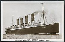 SHIPPING collection of 90 shipping lines steamers