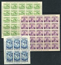 1933 Chicago Exhibition M/Sheet (2), 1934 New York