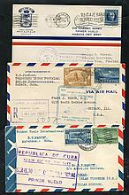 1927-71 First flight covers (10) incl. 1927 PAA