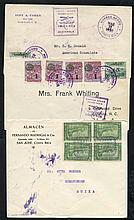 1925 Military flight cover San Jose/Cristobal