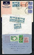 Post WWII cover miscellany incl. range of used air