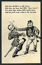 MILITARY WWI & WWII Anti-German Propaganda cards