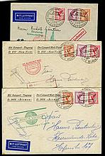 1931 Ship to shore mail from Dampfer Bremen,