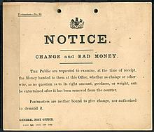 1905-37 POST OFFICE NOTICES (5) subjects incl. PO
