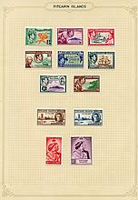 1940-67 fine M collection on leaves incl. 1940