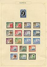 1935-67 fine M collection on lvs incl. 1935