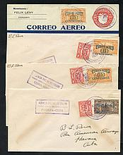 1929 First flight covers Pan Am Colon/Havana (125