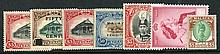 KEDAH 1912-65 chiefly M collection on leaves incl.