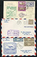1940 range of 10 first flight covers for Pan-Am
