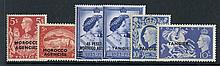 1935-57 fine M collection on leaves incl. British