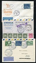 1937-60 First flight covers incl. DNL first flight