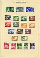 1935-67 fine M collection on leaves incl. 1935