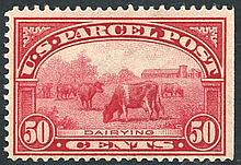 1912 Parcel Post 50c M (straight edge at right),