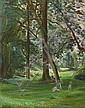 Emile SABOURAUD - Le Bois de Boulogne en 1954, Emile Sabouraud, Click for value