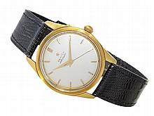 Wristwatch: Elegant Zenith automatic watch from the 60s, 18 K gold