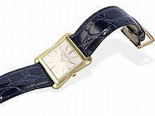 Very rare square and extra flat gentlemen's wristwatch, Vacheron Constantin Geneve 1955