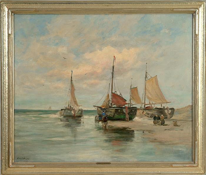 Charles P. Gruppe - (American 1860-1940)