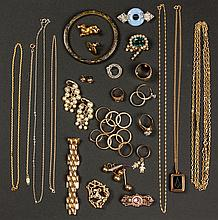 Large Group of Vintage Jewelry