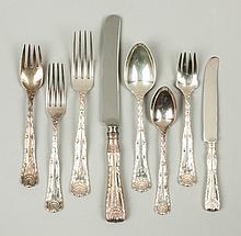 Tiffany & Co. Sterling Silver Flatware - Wave Edge Pattern