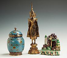 Asian Jar, Figure & Sculpture