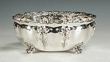 Tiffany & Co. Sterling Silver Footed Center Bowl