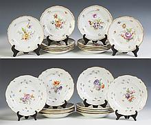 Meissen Dessert Plates & Deep Dishes