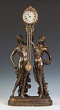 French Swinging Clock