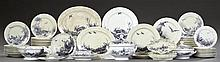Eighty-One Piece Set of Victorian Ironstone China, 1875, by W. Brownfield & Son, in the