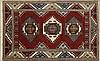 Indo-Kazak Carpet, 5' 1 x 8' 1.
