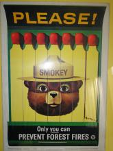 Smokey The Bear Fire Poster