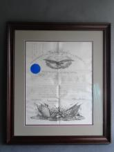 US Military Recognition Document  1865
