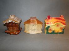 Lot 3 House Pottery Banks