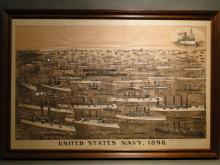 U. S. Navy 1898 Lithograph