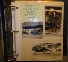 Rare Photo Album of Charles Lindbergh