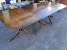 Three Part Mahogany Dining Table