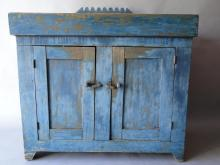 Early Blue Dry Sink