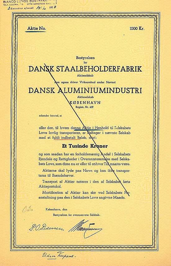 Dansk Staalbeholderfabrik A/S