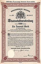 Grossherzogtum Hessen (IV. Anleihe für Eisenbahnzwecke)