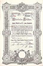 Königreich Bayern, Eisenbahn-Anlehen