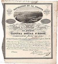 Auction of Historic Bonds & Shares