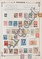 Monde Collection  de timbres-poste dans un album  Yvert et Tellier jusqu'à 1938 approx.  (tous états).
