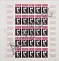 Côte Française des Somalis :  Jeux Olympiques de Tokyo année  1964, n°41, feuille de 25 timbresposte  non dentelés. Cote Cérès 2007  euro 1125, dans une pochette.
