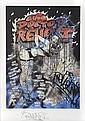 RevoltSans titre (2010).Lithographie. Numérotée sur 19.Signée en bas au milieu.60 x 42 cm.