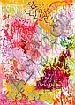 AlponeDysfunctional (2010).Aérosol et marqueur sur toile.Signée et datée au dos.116 x 81 cm.