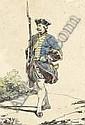 Nicolas-Toussaint CHARLET (1792-1845) - Un garde, Nicolas-Toussaint Charlet, Click for value