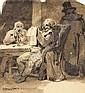 Nicolas-Toussaint CHARLET (1792-1845) - La lecture, Nicolas-Toussaint Charlet, Click for value