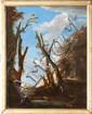 Jean Antoine CONSTANTIN D'AIX (1756-1844)Paysage italien.Huile sur toile marouflée sur panneau.77 x 60 cm.