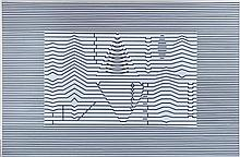 Victor VASARELY (1906-1997) Tance P1293. 1957 - 1988.