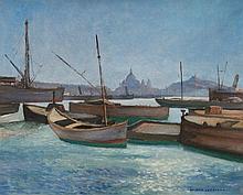 André VERDILHAN (1881-1963) Le Vieux-port.